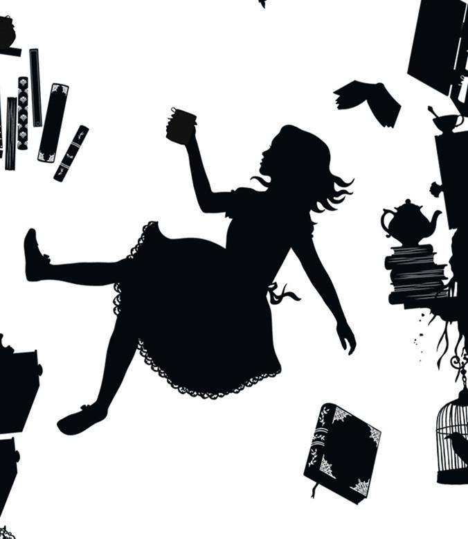 Alice In Wonderland Laura Barrett Illustration