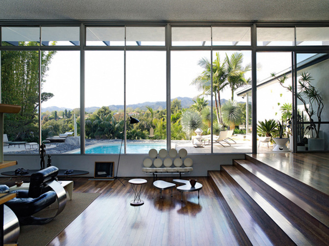 Strick House // Oscar Niemeyer + Michael Boyd   From One Backyard To Another